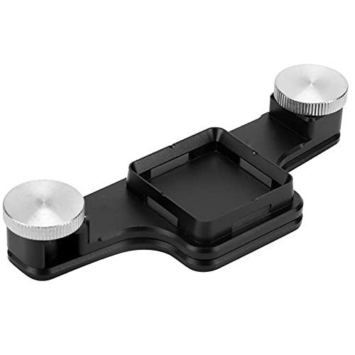 CHENQIAN Treppiede Monopiede Fotocamera Zaino Clip Attaccatura Rapida per Fotocamera Mirrorless Fotocamera SLR Nera
