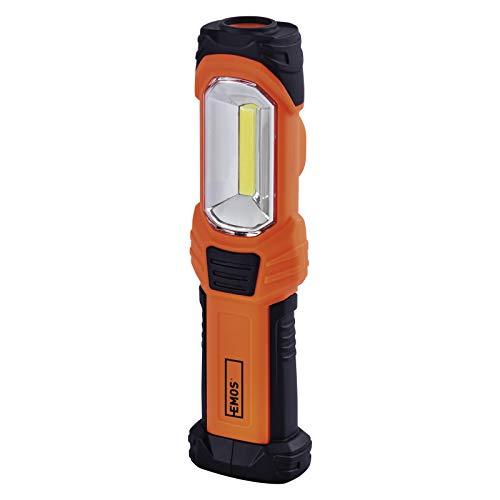 EMOS P4111 COB-Lámpara de Trabajo LED, Impermeable, con 3 Modos, pie de...