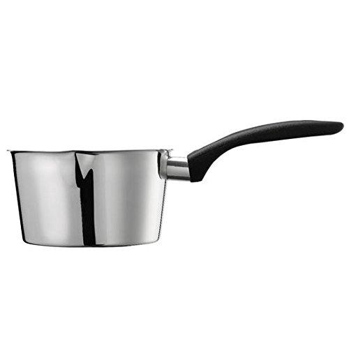 Inoxriv Casserole Conique en Acier Inoxydable 12 cm, Aluminium, 12 cm