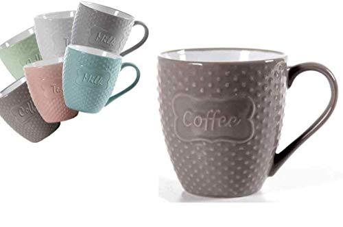 GICOS IMPORT EXPORT SRL Tazzone Latte Mug Rilievo 723520 360 ml gic