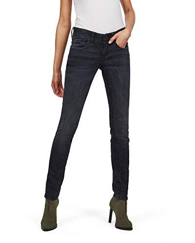 G-STAR RAW Damen Lynn Mid Waist Skinny' Jeans, Blau (dk aged 6545-89),...