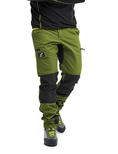 RevolutionRace Herren Nordwand Pants, Hose zum Wandern und für viele Outdoor-Aktivitäten, Cactus Green, S