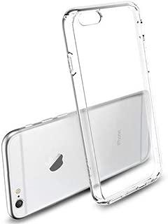 iPhone 6 6S Kılıf Kapak Tam Şeffaf TPU Silikon