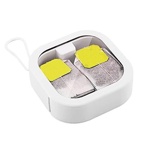 WZDTNL Mini caja de almacenamiento de joyas, organizador de caja de almacenamiento de joyas, contenedor de herramientas de pendientes de cuentas portátil para viajes en casa