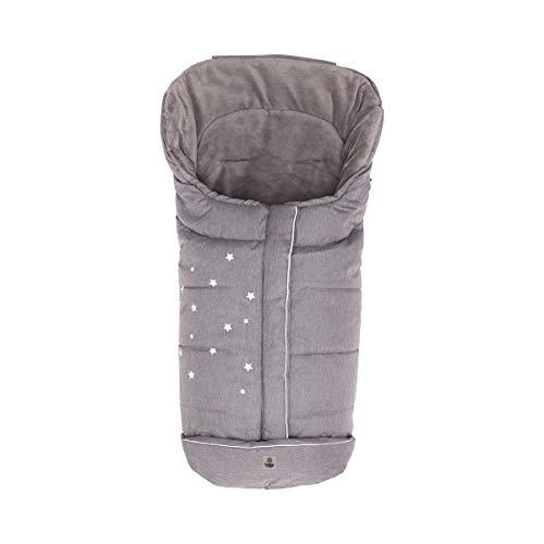 Babycab Baby Winterfußsack Stars/Winter Thermo-Fußsack für Kinderwagen/Buggy/ab 6 Monate