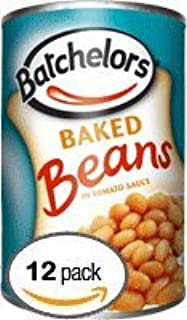 Batchelors Baked Beans In Tomato Sauce, 14.8-Ounce Cans (Pack of 12)