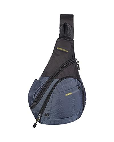 JDJD Crossbody Sling Mochila Bolsa De Pecho For Hombre Multifuncional Oxford Paño Impermeable Deportes Big Bag Messenger Mochila Al Aire Libre (Color : Royal Blue, Size : 31 x 10x 43 cm)