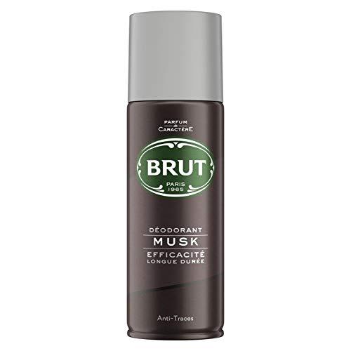 BRUT - Déodorant Atomiseur Musk 200Ml