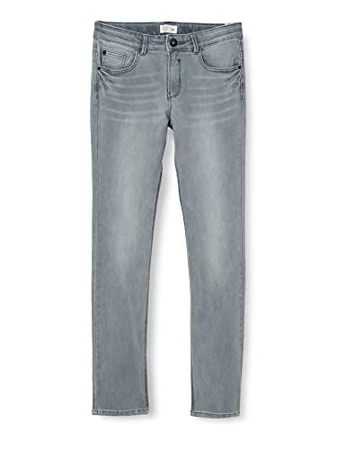 IKKS Junior Denim Slim Gris Jeans, Light Grey, 24 para Niñas