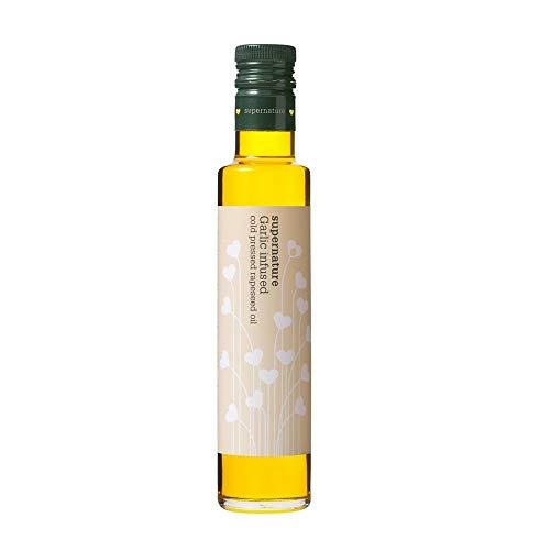 Supernature Cold Pressed Rapeseed Oil Garlic, 250ml