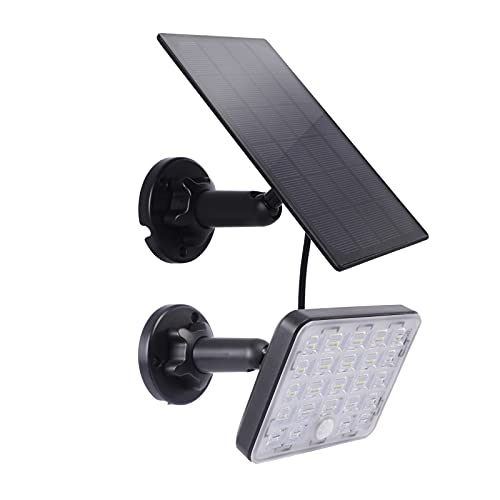 Solar Motion Outdoor Lights,Upgrade mit fokussierenden optischen Linsen Sensor Sicherheitsleuchten, IP65 Wasserdichte Dämmerungswandleuchten für Garten, Terrasse, Deck, Indoor Warehouse