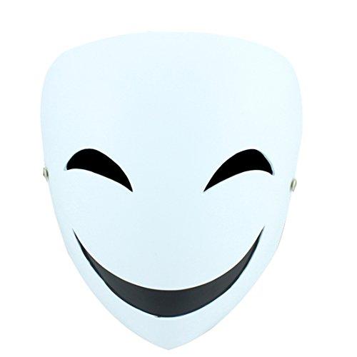 かぶりもの 笑顔仮面 ホラーマスク ハロウィン仮面 コスプレマスク 映画マスク仮装 変装グッズ