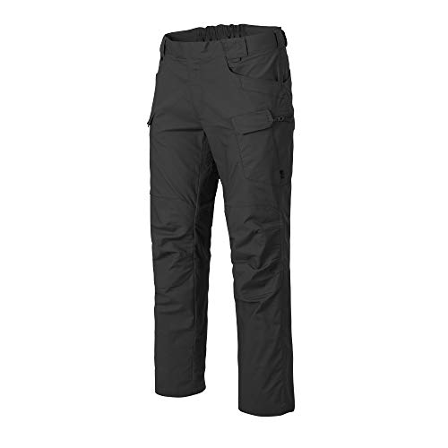 Helikon-Tex Urban Line UTP Urban Tactical Pants, Military Ripstop Cargo Style, Hombre, Ash Grey PolyCotton Ripstop, W32 - L34