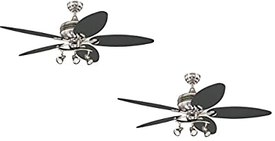 Westinghouse 7226520 Xavier 44-Inch Five-Blade Indoor Ceiling Fan with Three Spotlights