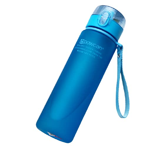 Botella de agua Botellas De Agua Potable, Taza De Agua Deportiva Para Estudiantes, Botella De Bebida Para Parejas, Taza De Gran Capacidad, Botellas De Plástico Para Tarvel, 560 Ml