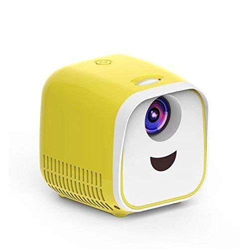 GY-HCJI 1080p Full HD Portátil Mini-proyector De 1000 Lúmenes, Reproducción De Películas Proyector De Cine En Casa Equipo Entretenimiento