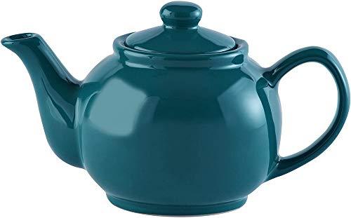 Price & Kensington, glänzend türkis, 2 Tassen Teekanne, Steingut, x x cm