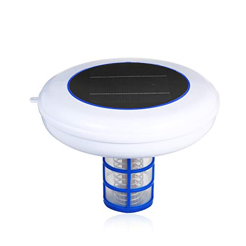 Kecheer Ionizador de agua para limpieza solar,Ionizador de piscina solar para desinfección de piscinas,Purificador de agua Ionizer piscina