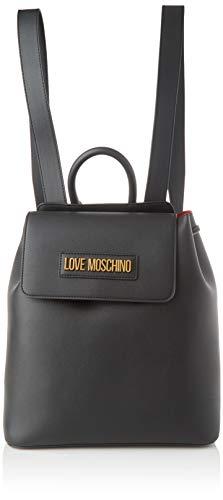 Love Moschino Damen Jc4265pp0a Rucksack, Schwarz (Black), 15x27x29 Centimeters