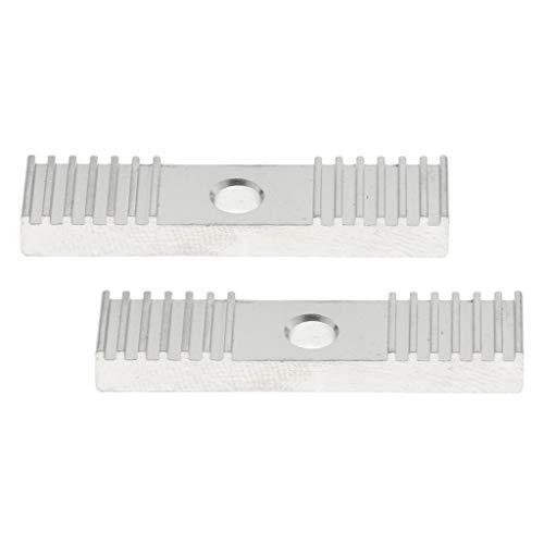 D DOLITY 2X GT2 Zahnriemen Befestigung Zahn Stück Pitch 2mm Clamp 9 * 40mm Für 3D Drucker