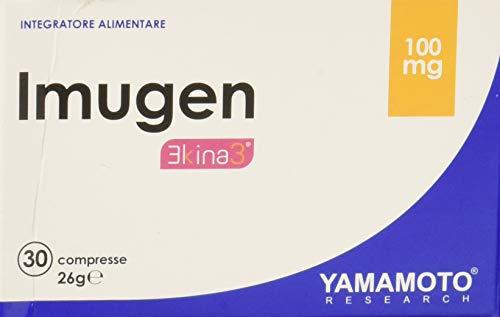 Yamamoto Research Imugen integratore alimentare di Vitamina C, Zinco ed estratti di Echinacea 30 compresse