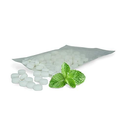 Zahnpflege Pool XYLIT Kariesschutz Pastillen, Süßigkeiten für gesunde Zähne, Pastillen mit Süßungsmittel Xylit, verschiedene Geschmacksrichtungen, 1.000g Großpackung, Vegan (Minze)