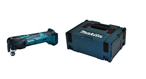 Makita DTM51Z - Utensile multifunzione a batteria agli ioni di litio da 18 V + Makita P-02375 Makpac, Cassetta Degli Attrezzi, Misura 2