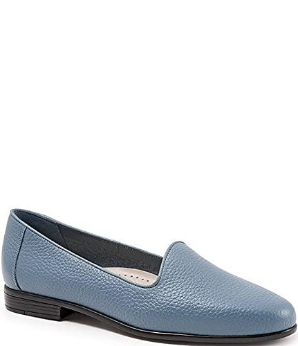 [トロッターズ] シューズ 26.5 cm パンプス Liz Tumbled Leather Flats Blue レディース [並行輸入品]