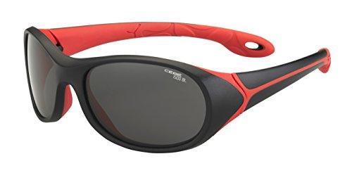 Cébé Kinder Sonnenbrille Simba, Black/Red/Grey
