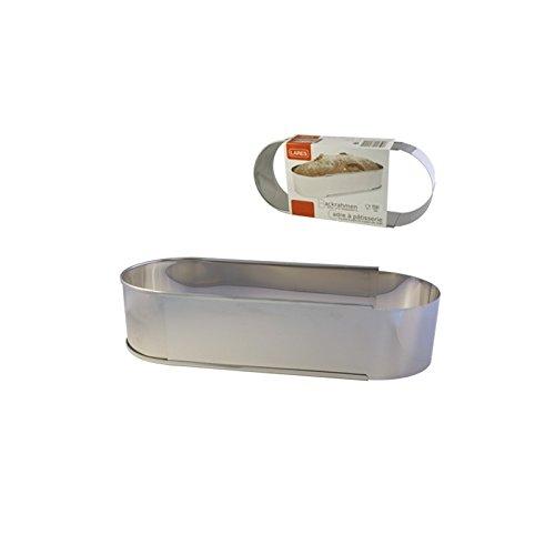 Stollenbackrahmen oval, Grösse verstellbar, 6 cm hoch