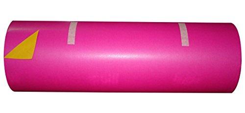 Woerner Geschenkpapier Vollton pink mandarine Rolle 250m x 50cm