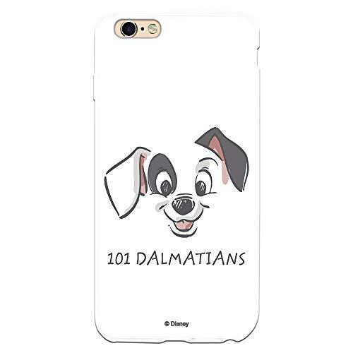 Funda para iPhone 6 Plus - 6S Plus Oficial de 101 Dálmatas Cachorro Dibujo para Proteger tu móvil. Carcasa para Apple de Silicona Flexible con Licencia Oficial de Disney.