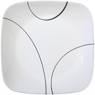 Corelle Square Simple Lines 9-Inch Plate Set (6-Piece)
