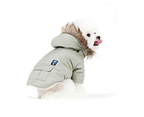 PetBoBo Cat Dog Doggie Down Jacket Hoodie Coat Pet Clothes Warm Clothing...