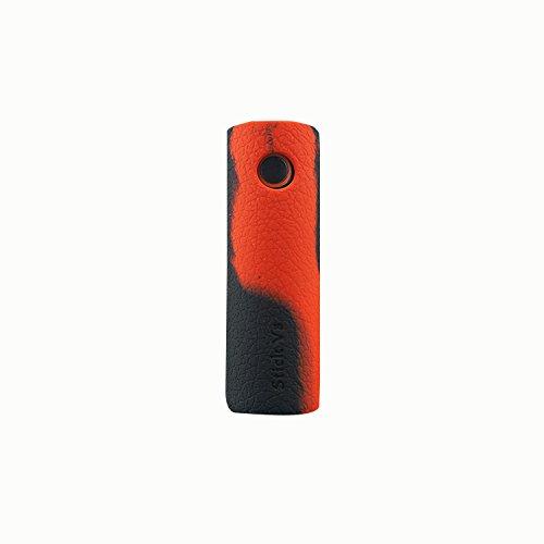 Rayee protectora funda de silicona Carcasa Skin Cover Para SMOK Stick V8Kit Black Red