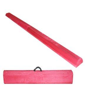 The Beam Store Pink Folding Balance Beam (8-Feet) WOOD CORE Made in USA