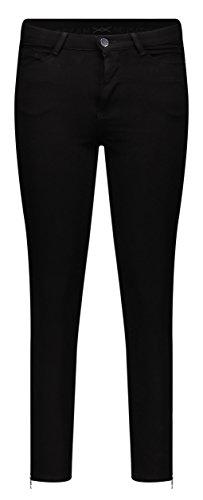 MAC Jeans Damen Sensation Skinny Jeans, Schwarz (Black D999), W34/L29