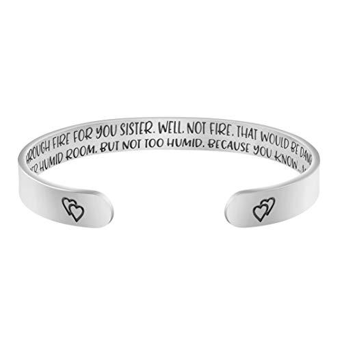Inspirational Bracelet for Sister