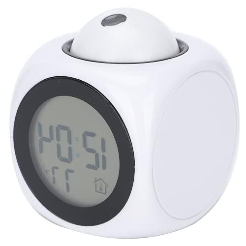 Relógio de projeção, relógio de LCD, relógio de carrilhão, para estudantes, funcionários de escritório essenciais.