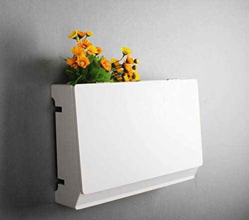 GYZS Shelf Set-top Box Wandhalterung Wand Kreative Router Sockel Abdeckung Schlafzimmer Mit Tür Lagerregal (Farbe : 3)