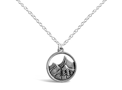 Mountains Nature Necklace