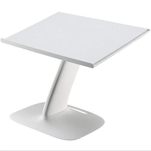 YANGBSH Mesa De Cama Escritorio Plegable Ajustable para Computadora Portátil Escritorio Plegable para Cama Sofá Portátil Mesa para Computadora Portátil Mesa Sala Estar,White