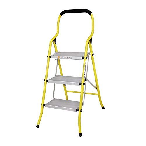 GUOXY Multifunktions-Trittschemel Aluminiumlegierung Haushalt Folding Tragbarer 2 3 Leiter Verdickte Multi-Funktions-Ladder,# 2