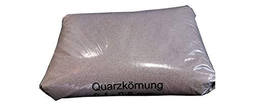 M + E Tebbe-Neuenhaus GmbH & Co.KG 25kg Quarzsand 0,4-0,8mm Sand für Sandfilteranlage