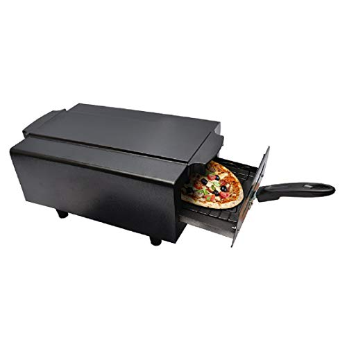 Hot Berg 2000W Steel 14 Inches Medium Electric Tandoor and Barbeque Grill Heating Element, Warranty 2 Year (Black)