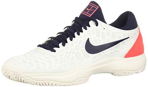 Nike Air Zoom Cage 3 HC, Scarpe da Fitness Uomo, Multicolore (White/Blackened Blue/Bright Crimson 100), 40.5 EU