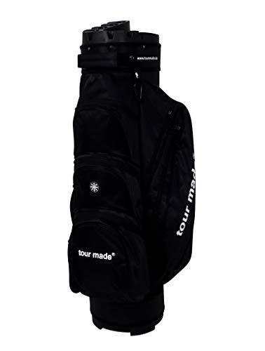 tour made OG14 Organizer Trolleybag Cart Bag Golftasche Modell 2020 (schwarz)