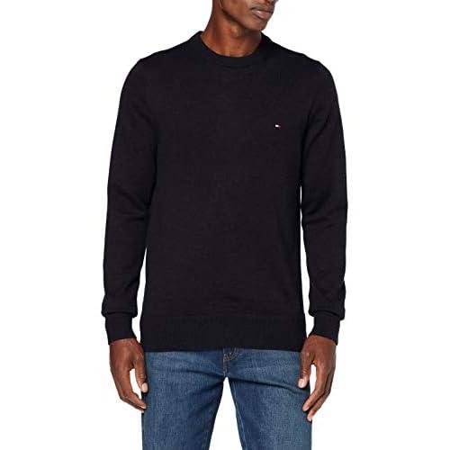 Tommy Hilfiger Men's Pima Cotton Cashmere Crew Neck Sweater