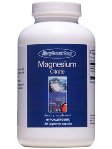 Allergy Research Group Magnesium Citrate 170 mg 180 Caps by Allergy Research Group Allergy Research Group Magnesium