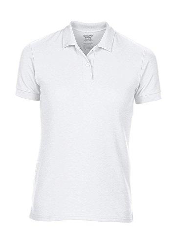 Gildan - Polo - Homme - Blanc - Medium
